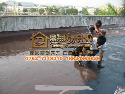 天面聚氨酯防水施工